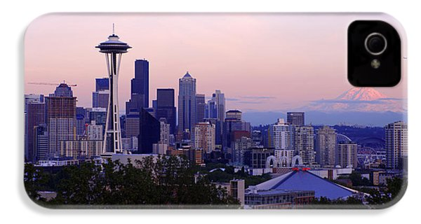 Seattle Dawning IPhone 4s Case by Chad Dutson