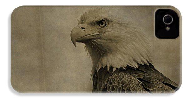 Sepia Bald Eagle Portrait IPhone 4s Case