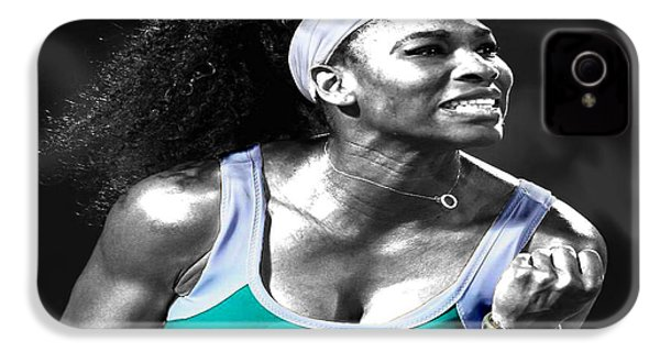 Serena Williams Ace IPhone 4s Case by Brian Reaves