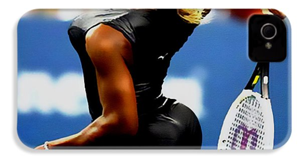 Serena Williams Catsuit II IPhone 4s Case by Brian Reaves