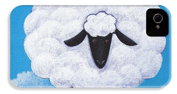 Sheep Nursery Art IPhone 4s Case by Christy Beckwith