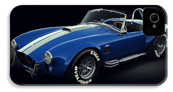 Shelby Cobra 427 - Bolt IPhone 4s Case by Marc Orphanos