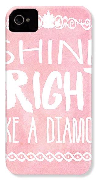 Shine Bright IPhone 4s Case