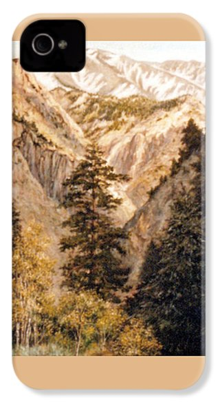 Shirley Temple Mine IPhone 4s Case by Donna Tucker
