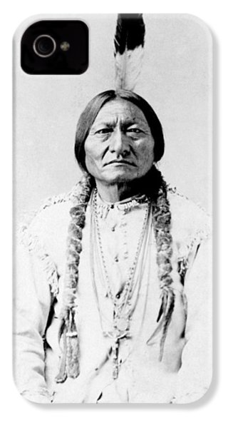 Sioux Chief Sitting Bull IPhone 4s Case