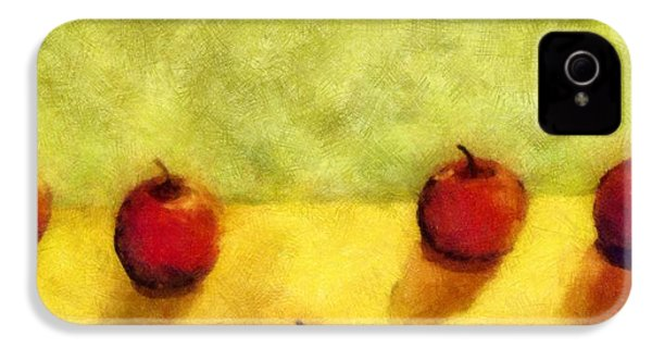 Six Apples IPhone 4s Case by Michelle Calkins