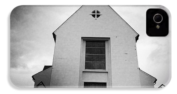 Skalholt Cathedral Iceland Europe Black And White IPhone 4s Case by Matthias Hauser