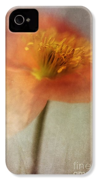 Soulful Poppy IPhone 4s Case by Priska Wettstein