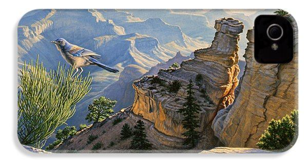 South Rim Morning IPhone 4s Case by Paul Krapf