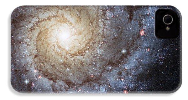 Spiral Galaxy M74 IPhone 4s Case