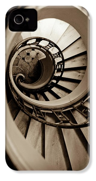 Spiral Staircase IPhone 4s Case by Sebastian Musial