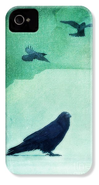 Spirit Bird IPhone 4s Case by Priska Wettstein