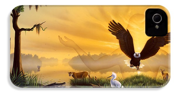Spirit Of The Everglades IPhone 4s Case by Jerry LoFaro