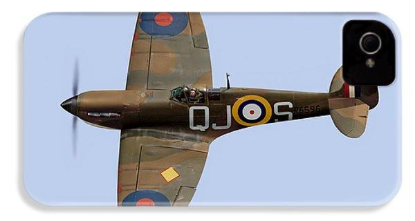 Spitfire Mk 1 R6596 Qj-s IPhone 4s Case by Gary Eason