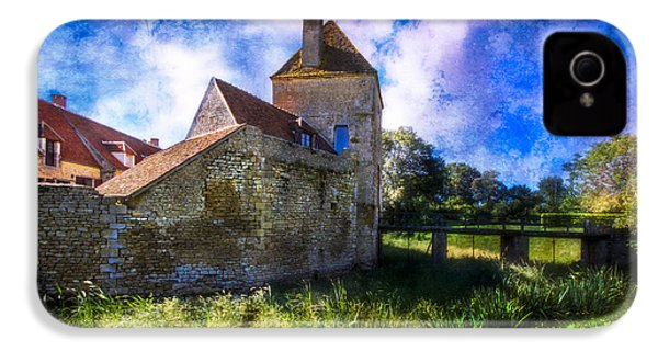 Spring Romance In The French Countryside IPhone 4s Case by Debra and Dave Vanderlaan