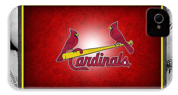 St Louis Cardinals IPhone 4s Case by Joe Hamilton