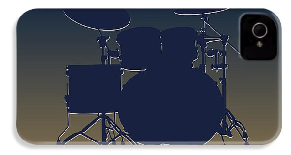 St Louis Rams Drum Set IPhone 4s Case by Joe Hamilton