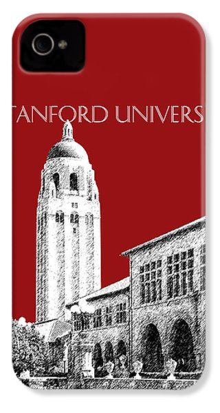 Stanford University - Dark Red IPhone 4s Case by DB Artist