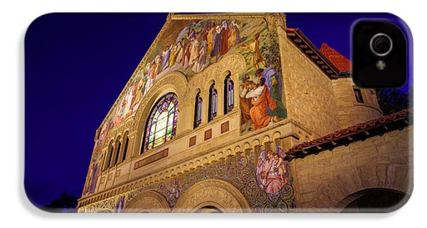 Stanford University Memorial Church IPhone 4s Case by Scott McGuire
