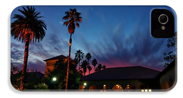 Stanford University Quad Sunset IPhone 4s Case by Scott McGuire