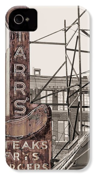 Stars Steaks Frys And Burgers IPhone 4s Case by JC Findley