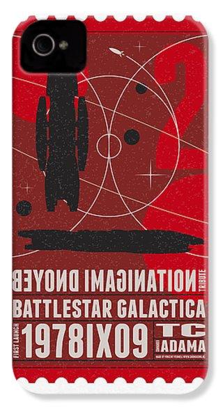 Starschips 02-poststamp - Battlestar Galactica IPhone 4s Case