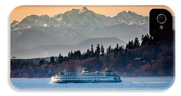 State Ferry And The Olympics IPhone 4s Case by Inge Johnsson