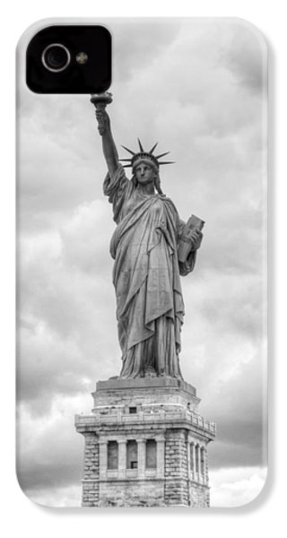 Statue Of Liberty Full IPhone 4s Case by Dave Beckerman