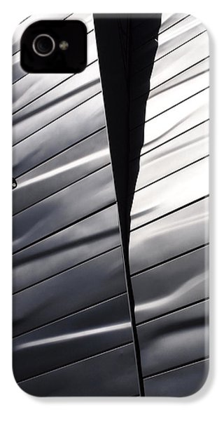 Steel Currents IPhone 4s Case by Rona Black