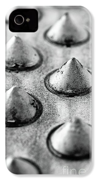 Steel Kisses IPhone 4s Case by Charles Dobbs