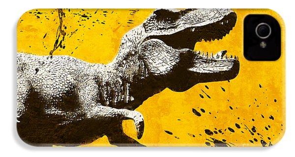 Stencil Trex IPhone 4s Case by Pixel Chimp