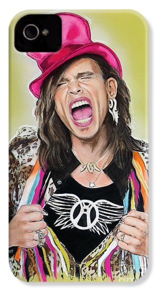 Steven Tyler 2 IPhone 4s Case by Melanie D