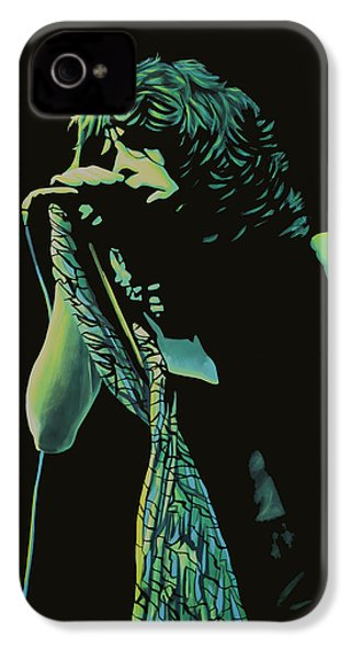 Steven Tyler 2 IPhone 4s Case by Paul Meijering