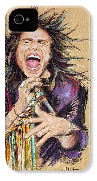 Steven Tyler IPhone 4s Case by Melanie D