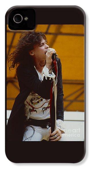 Steven Tyler Of Aerosmith At Monsters Of Rock In Oakland Ca IPhone 4s Case by Daniel Larsen