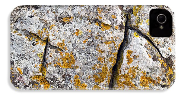 Stone Background IPhone 4s Case by Sinisa Botas