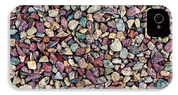 Stone Pebbles  IPhone 4s Case by Ulrich Schade
