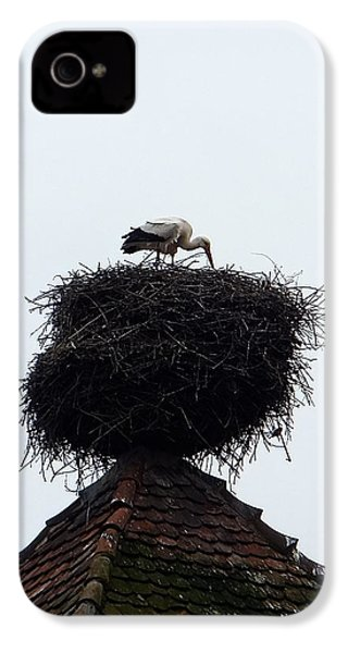 Stork IPhone 4s Case by Marc Philippe Joly