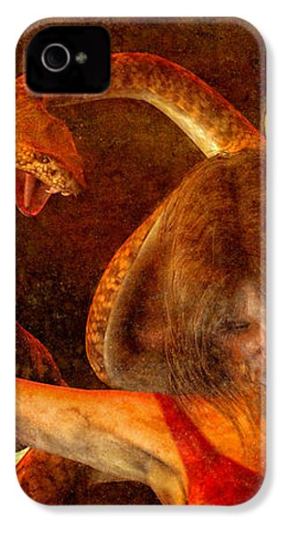 Story Of Eve IPhone 4s Case by Bob Orsillo