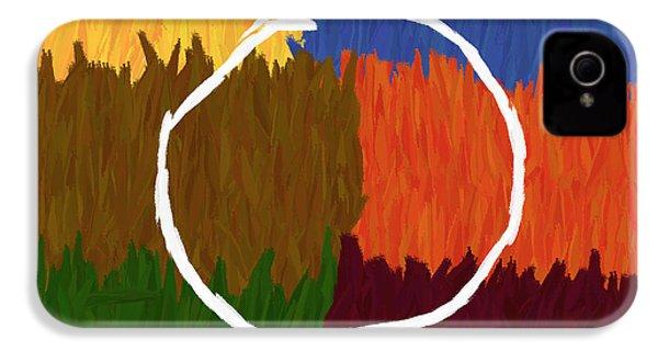 Strokes Of Colour IPhone 4s Case by Condor