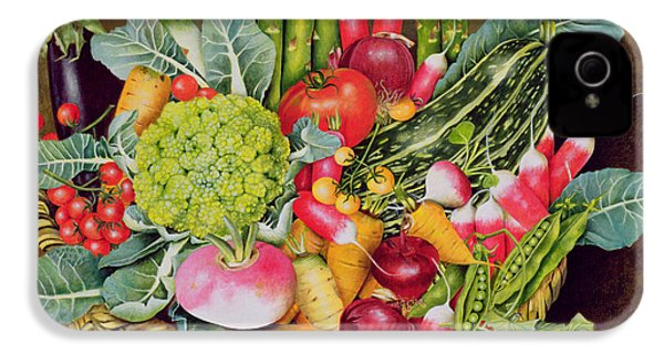 Summer Vegetables IPhone 4s Case by EB Watts