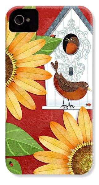 Sunflower Surprise IPhone 4s Case