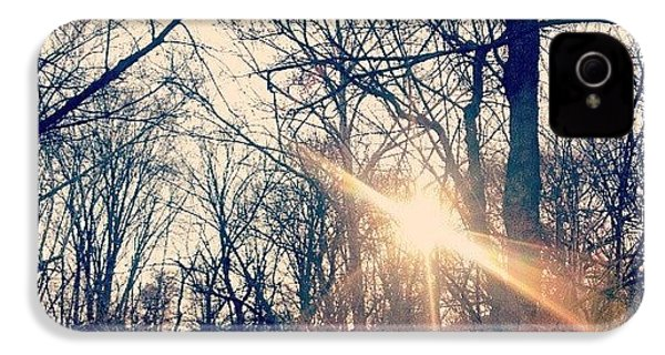 Sunlight Through The Trees IPhone 4s Case by Genevieve Esson