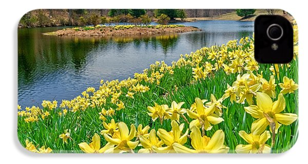 Sunny Daffodil IPhone 4s Case by Bill Wakeley