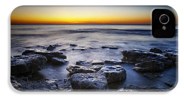 Sunrise At Cave Point IPhone 4s Case by Scott Norris