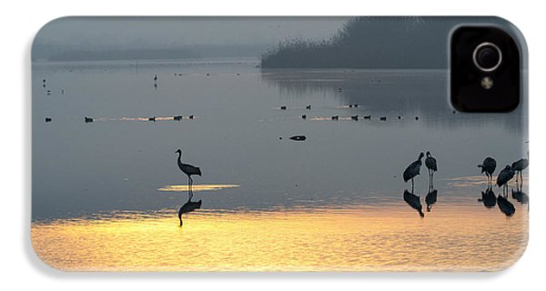 Sunrise Over The Hula Valley Israel 1 IPhone 4s Case by Dubi Roman