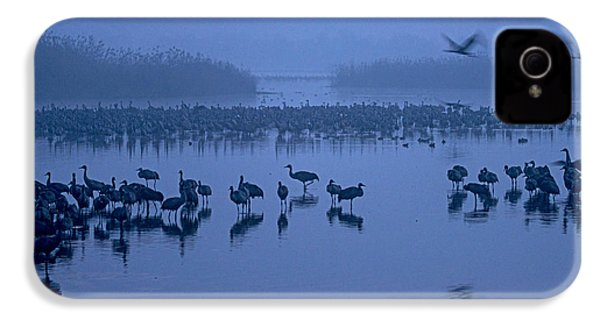 Sunrise Over The Hula Valley Israel 4 IPhone 4s Case by Dubi Roman