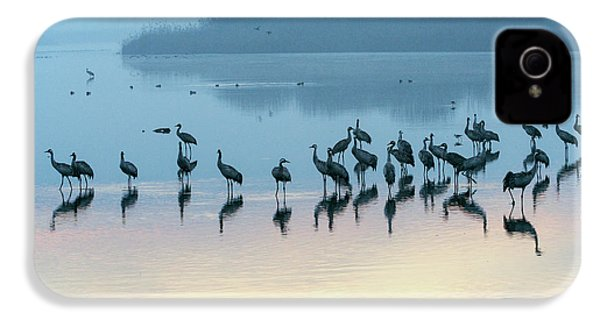 Sunrise Over The Hula Valley Israel 5 IPhone 4s Case by Dubi Roman