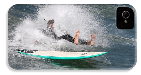 IPhone 4s Case featuring the photograph Surfer Wipeout by Nathan Rupert