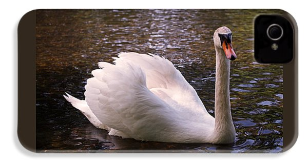 Swan Pose IPhone 4s Case by Rona Black